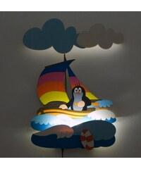 DoDo LED Lampička Krtek a plachetnice NL28LED 35x50 cm