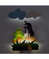 DoDo LED Lampička Krtek se žábou NL26LEDDO 35x50 cm
