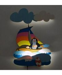 DoDo LED Lampička Krtek a plachetnice NL28LEDDO 35x50 cm
