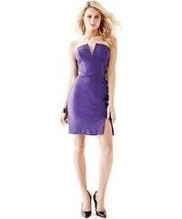 Guess Šaty Strapless High-Slit Dress