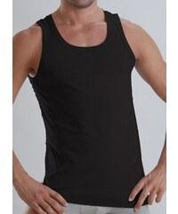 Geronimo Oblečení - pásnký nátělník - bambusový nátělník (černý)