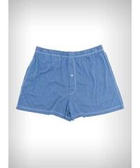 Pánské spodní prádlo - boxerky - bambusové boxerky (modré)