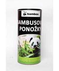Bambox Bambusové ponožky ze 100% bambusu (mix barev)