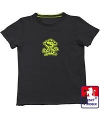 Suspect animal Dětské konopné tričko Monkey