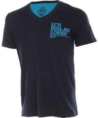TopMode Pánské tričko tmavě modrá