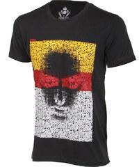 TopMode Pánské tričko s obrázkem šedá