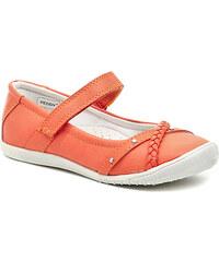 Dětská obuv Peddy PU-518-31-08 oranžové dívčí baleríny