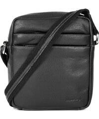 Sendi Design Pánská kožená taška na doklady SendiDesign IG710 - černá