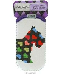 Santoro London - iPhone 4/4S/5/5C/5S Pouzdro - Scottie Dogs