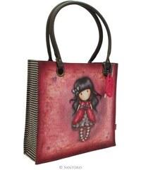 Santoro London - Gorjuss - Ladybird - Velká Nákupní taška - Červená