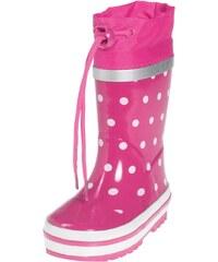 Dětské holinky Playshoes růžový puntík