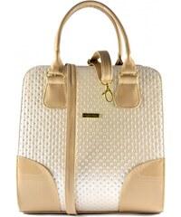 Béžová luxusní kabelka Keira Coradi Merto 2441