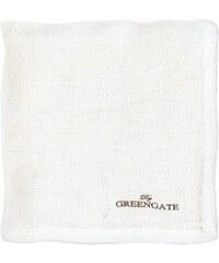 Green Gate Látkový ubrousek Heavy linen white