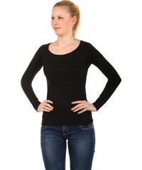 TopMode Elegantní svetřík černá
