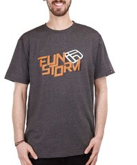 Pánské tričko Funstorm Balwyn dark grey L