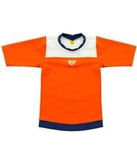 Steiff Baby - Jungen Badehose T-shirt 1/2 Arm, Mehrfarbig