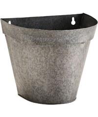 Madam Stoltz Nástěnný zinkový květník Zinc