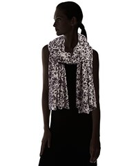 PIECES Damen Umschlagtuch Pcjozot Long Scarf, Animalprint