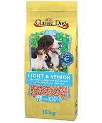 CLASSIC DOG Hundetrockenfutter »Light & Senior«, 15 kg