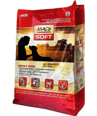 MAC'S Hundetrockenfutter »Soft Adult Dog Huhn & Fisch«, 15 kg