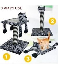 HEIM Kratzbaum »Set 3-in-1 Zebra«