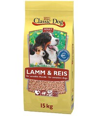 CLASSIC DOG Hundetrockenfutter »Adult Lamm & Reis«, 15 kg