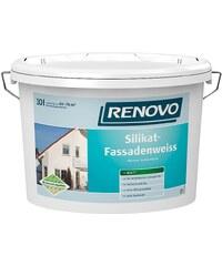 RENOVO Silikat-Fassadenweiss, 10 Liter