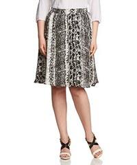 Zizzi Damen A-Linie Rock W.O.W| Skirt, knee length, Knielang, Animalprint