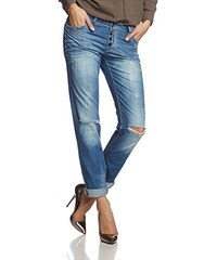 Cipo & Baxx Damen Straight Leg Jeanshose CBW-0644
