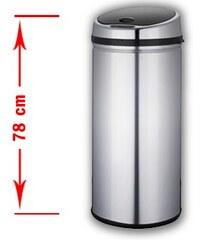 Automatický odpadkový koš Ponte 42 litrů se senzorem La Perfecta ponte42