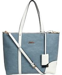 Dámská kabelka Doca 10252 - modrá