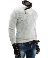 Pánský svetr Mudro bílý - bílá