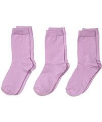 Melton Unisex Baby Socken Numbers, Solid, 3er Pack, Einfarbig