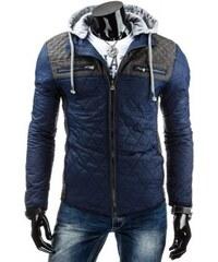 Pánská bunda Criwo tmavě modrá - modrá