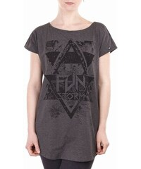 Dámské tričko Funstorm Harper dark grey S
