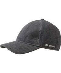 Stetson Vaby - šedá baseballová čepice z vlny a kašmíru