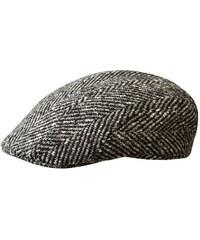 Stetson Madison - šedá tvídová luxusní plochá čepice
