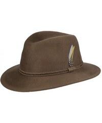 Stetson Rochester - hnědý klobouk z vlnění plsti
