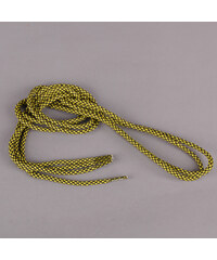 MD Tube Laces Rope Multi černé / žluté