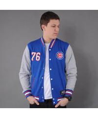 Majestic Lutkin Letterman Chicago Cubs modrá / melange šedá