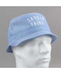 Space Monkeys Savoir Faire Bucket Hat melange modrý