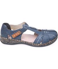 Rieker dámské sandály 46380-14 modré
