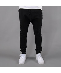 Urban Classics Deep Crotch Biker Sweatpants černé