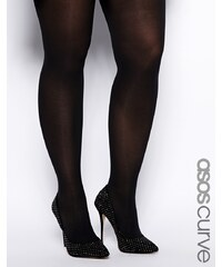 ASOS CURVE - Lot de 3 collants 50 deniers - Noir