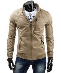 Pánská bunda Normale béžová - béžová