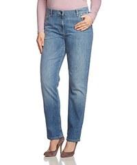 Frapp Damen Straight Leg Jeans VINTAGE DESTROYED auch für Große Größen Plus Size