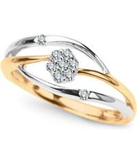 STAVIORI Luxusní zlatý prsten s diamantem PXD3686