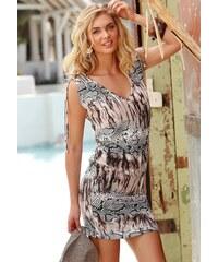 LASCANA Longshirt mit Animalprint