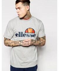 Ellesse - T-Shirt mit klassischem Logo - Grau