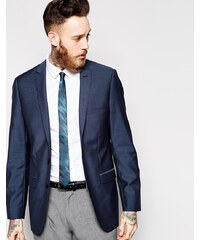 Esprit - Schmal geschnittene Jacke mit 2 Knöpfen - Blau